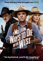 Rent A Million Ways to Die in the West on DVD