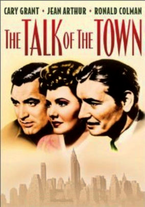 Rent The Talk of the Town on DVD
