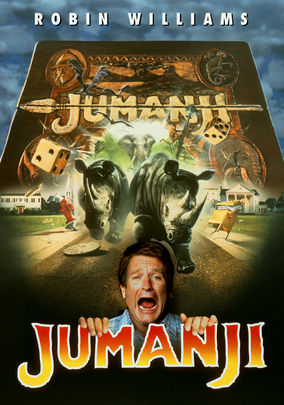 Rent Jumanji on DVD