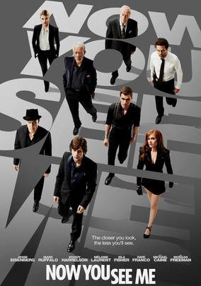 Rent Now You See Me on DVD