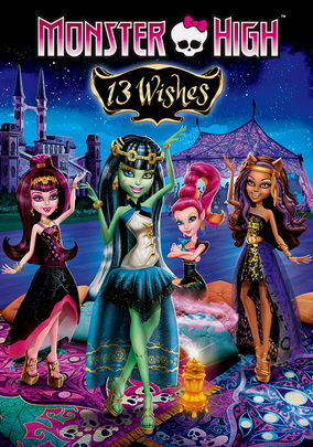 Rent Monster High 13 Wishes on DVD