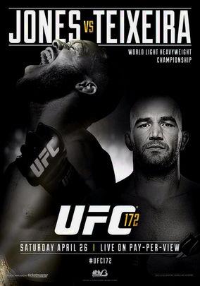 Rent UFC 172: Jones vs Teixeira on DVD